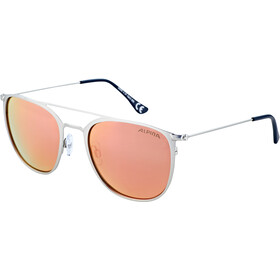 Alpina Zuku Gafas, silver matt/rose-gold mirror